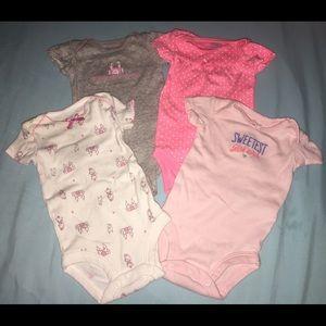 Other - Newborn Baby Girl Onesies
